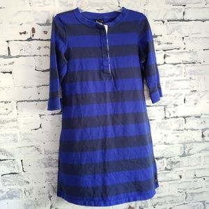 Patagonia Blue Striped Cotton Dress